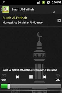 Murottal juz 30 Al-Mueaqly - náhled