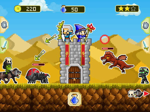 Mini guardians: castle defense (retro RPG game)  screenshots 1