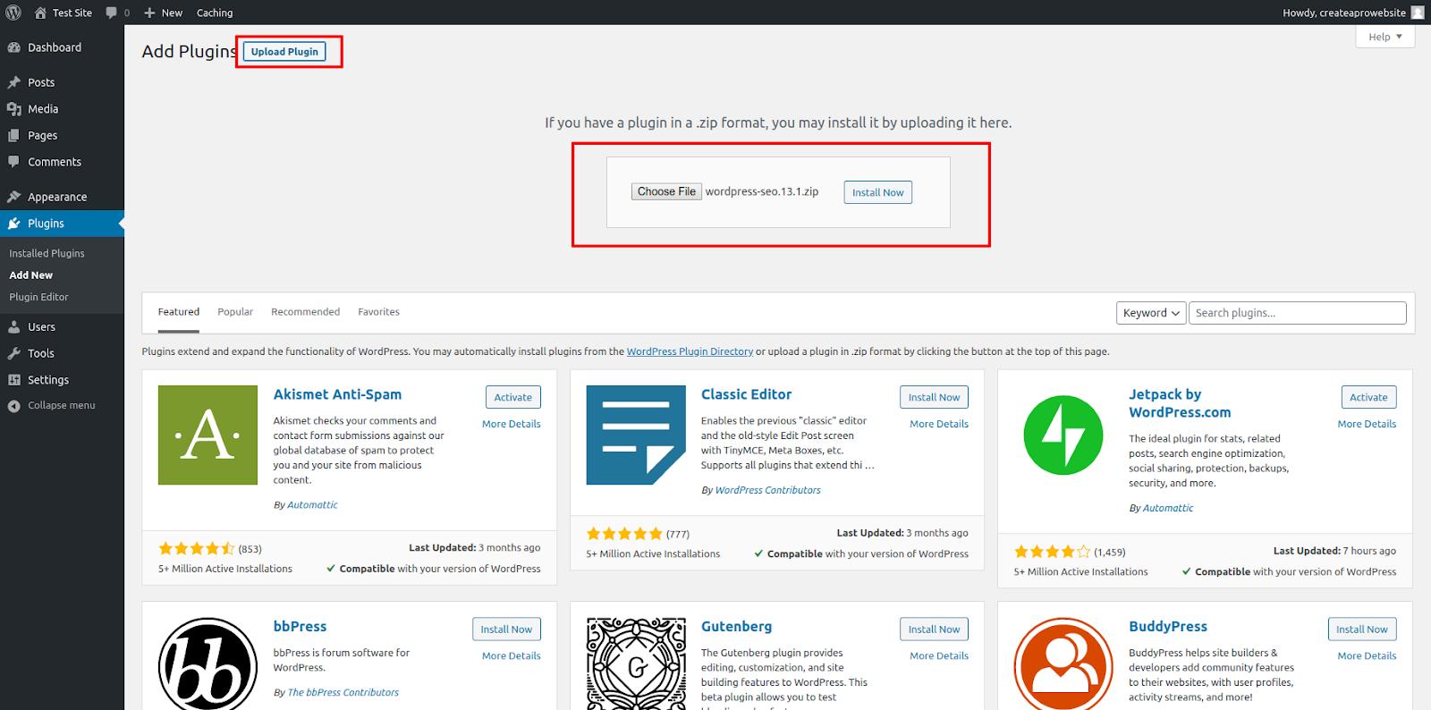 best wordpress plugins how to upload zip file