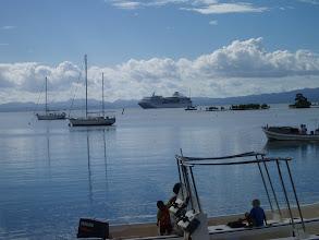 Photo: Cruise Ship in Savusavu