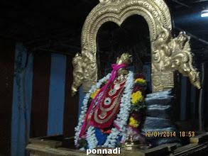 Photo: nammAzhwAr after receiving parivattam from perumAL
