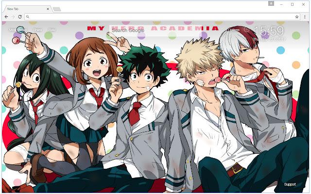Boku No Hero Academia Wallpaper Hd Themes