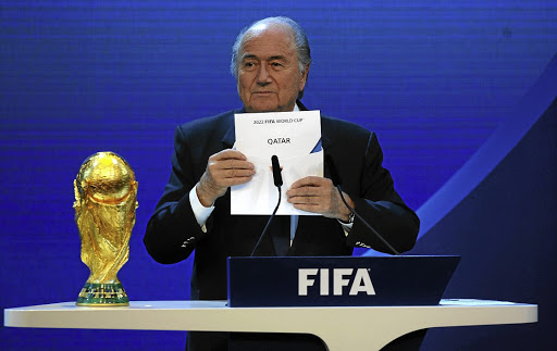 Former Fifa president Joseph Sepp Blatter. Picture: GETTY IMAGES/LAURENCE GRIFFITHS