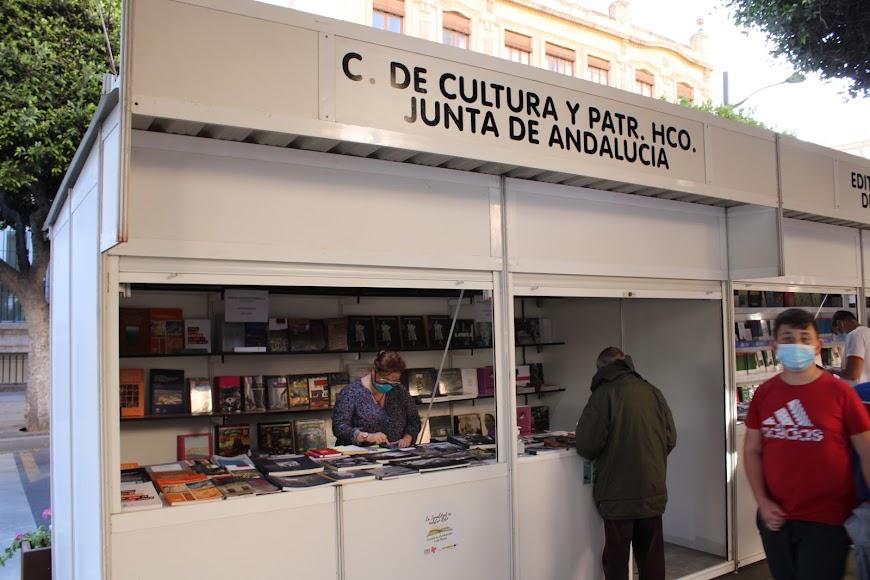 Stand de C. Cultural y Patrimonio Histórico Junta de Andalucía.