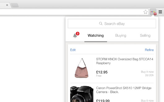 eBay for Chrome
