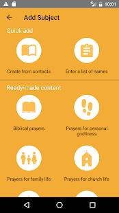 PrayerMate - náhled