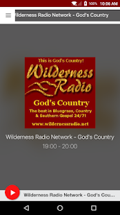 Wilderness Radio Network - God's Country- screenshot thumbnail