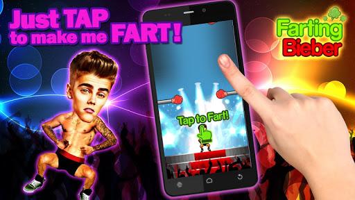 Bieber Games: Farting Bieber