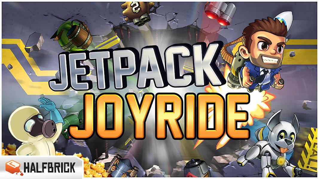 Jetpack Joyride APK Mod v1.8.5 [Unlimited Coins] - Cover