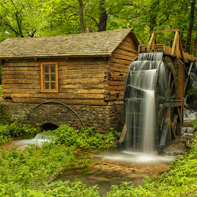 Reed Springs Mill by Jay Stout - City,  Street & Park  Historic Districts (  )