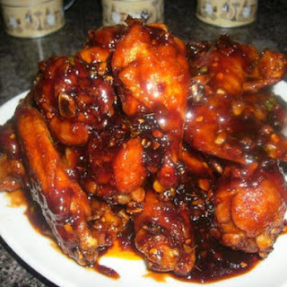 Korean Sweet, Spicy & Sticky Wings