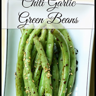 Chili Garlic Green Beans