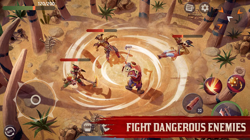 Télécharger gratuit Exile Survival – Survive to fight the Gods again APK MOD 1