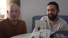 David Martínez y César Lorente.