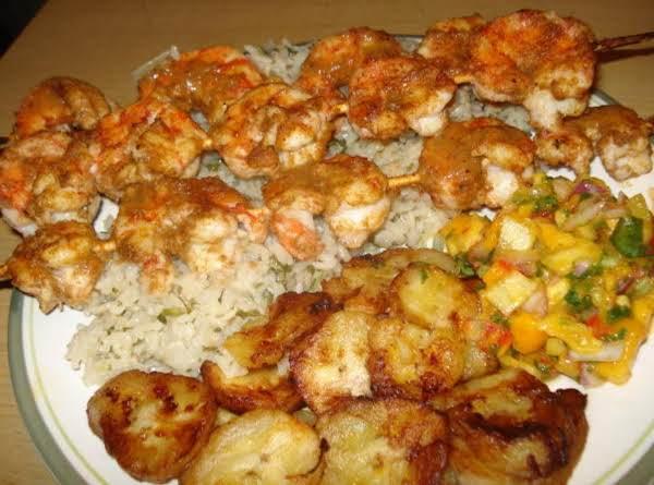 Grilled Chipotle Shrimp (camarones Asados Al Pincho)