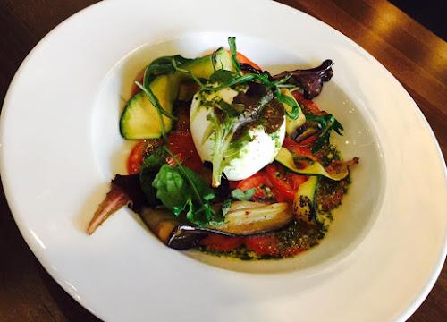 Tomates bufala et ses légumes grillés