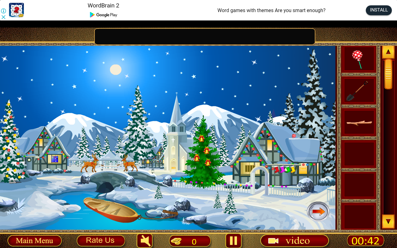 Crazy 100 Rooms - Christmas Santa Celebration- screenshot