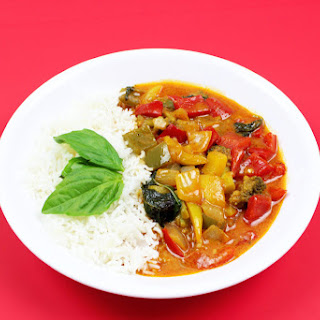Veggie Red Curry