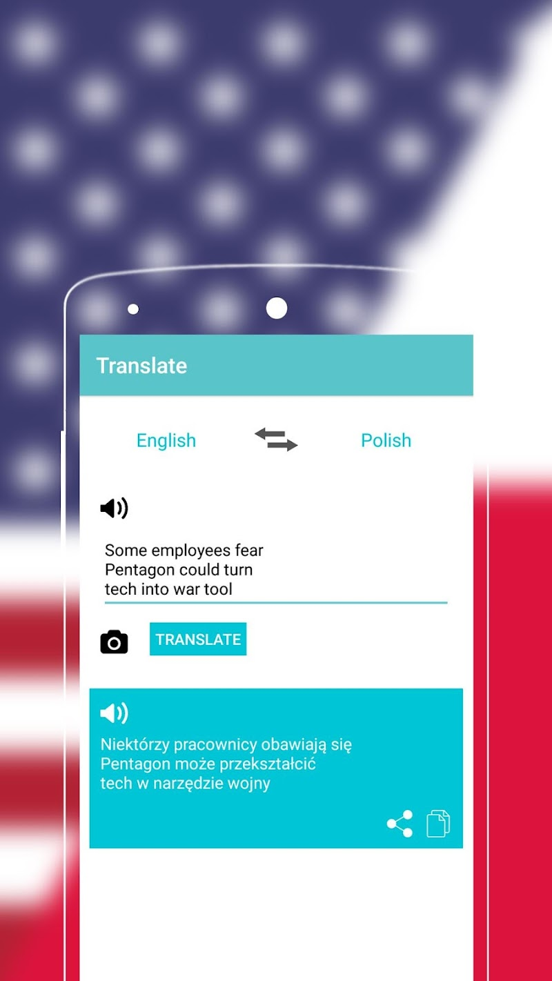 Скриншот English to Polish Dictionary - Free Translator