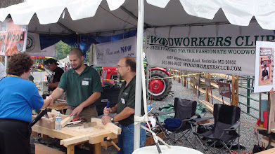 Photo: Woodworkers Club - Oscar Romero and Tony Perry