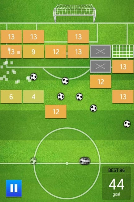 #3. Soccer Brick Game (Android)