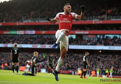 📷  L'incroyable raté de Pierre-Emerick Aubameyang avec Arsenal