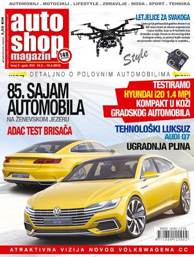 Auto Shop Magazin mart 2015.