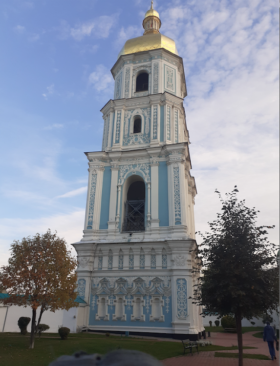 Saint Sophia Cathedral in Kyiv, an outstanding architectural monument that is listed by Unesco as a world heritage site, is more than 1,000 years old
