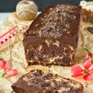 Two Chocolate Loaf Cake.