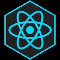 Learn React 16.9 - ReactJs Tutorials & Guide 🤓 icon