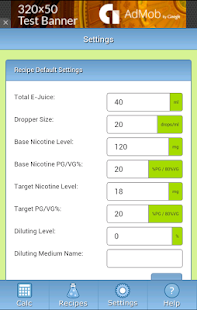 eJuiceCalc - Recipe Calculator - Android Apps on Google Play