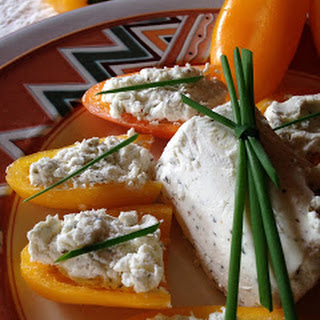 Goat Cheese Stuffed Mini Peppers