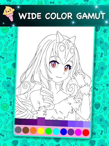 Kawaii - Anime Animated Coloring Book 2.6 screenshots 8