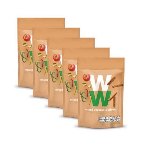 Grönsakspinnar - 15-pack