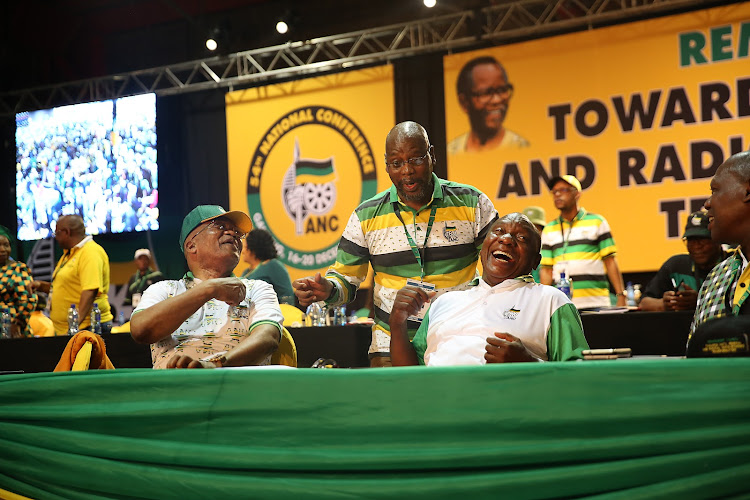 Cyril Ramaphosa was elected the new president of the ANC. Image: ALON SKUY
