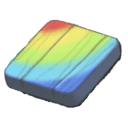 虹のピース