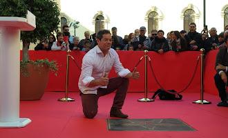 Jorge Sanz: homenaje en el Paseo de la Fama