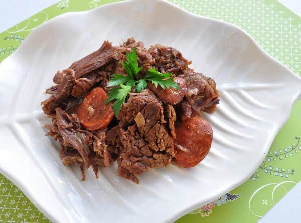 Portuguese Pot Roast In Wine & Garlic Recipe