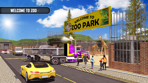 Animal Transporter Offroad Drive screenshots 2
