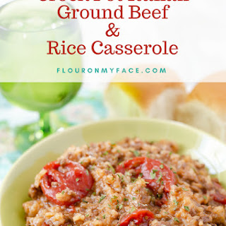 Crock Pot Italian Ground Beef and Rice Casserole.
