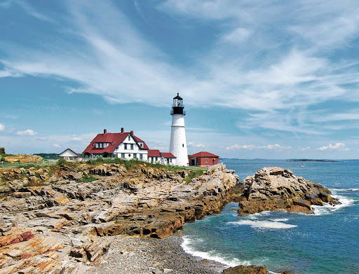 Portland-Head-Light.jpg - Hop on American Cruise Lines and visit Maine Harbor to see a beautiful lighthouse and impressive neo-colonial architecture.