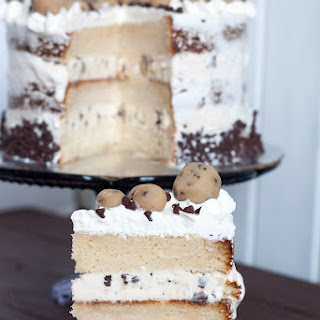 Cookie Dough Ice Cream Cake