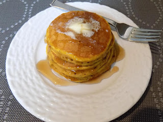 Spiced Pumpkin Pancakes Recipe