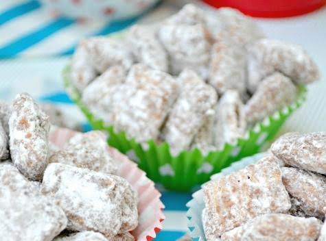 Scotcheroo Muddy Buddies Recipe