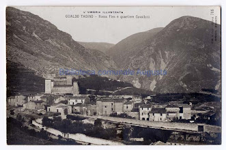 Photo: Gualdo Tadino, Rocca Flea e quartiere Cavallotti