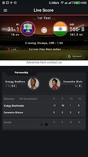 Cricket Buzz - live score fast- screenshot thumbnail