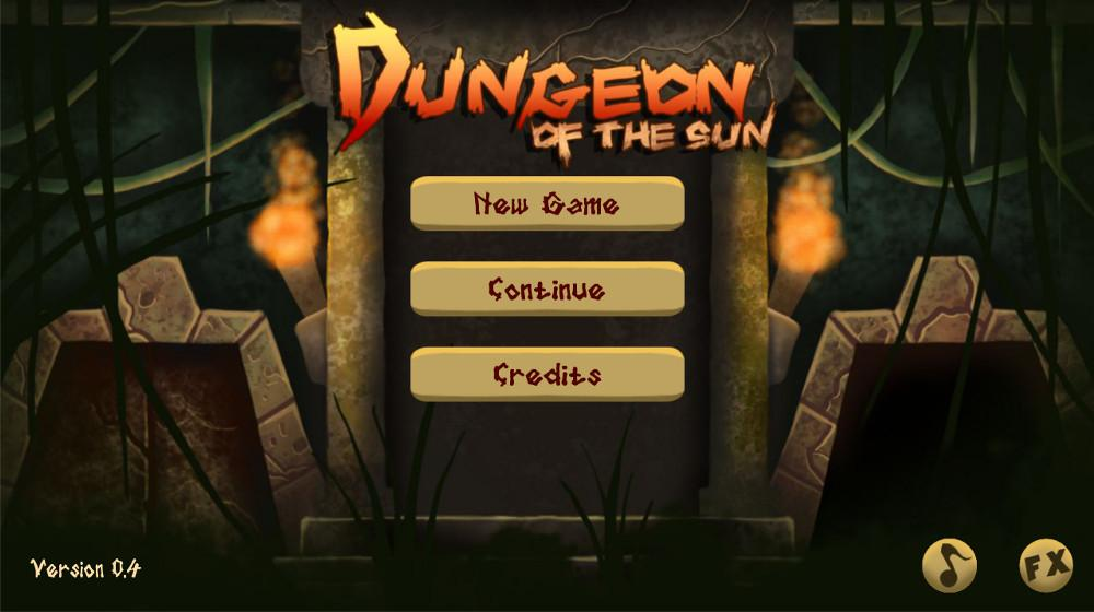 Dungeon of the Sun- screenshot