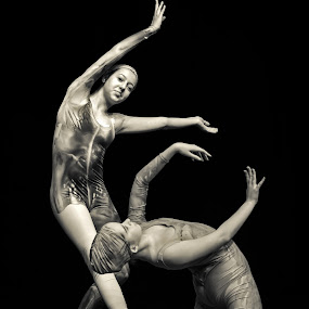 by Mladen Bozickovic - People Musicians & Entertainers ( pose, girls, dancers, figure, ballerinas )