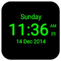 Digital Clock Live Wallpaper icon
