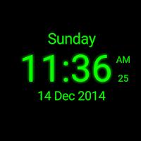 Download Digital Clock Live Wallpaper for PC